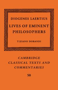 Lives of eminent philosophers