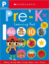 Jacket Image For: Pre-K Learning Pad: Scholastic Early Learners (Learning Pad)