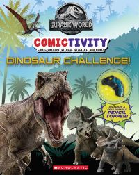 Jacket Image For: Dinosaur Challenge! (Jurassic World: Comictivity)