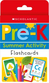 Jacket Image For: Pre-K Summer Activity Flashcards: Scholastic Early Learners (Flashcards)