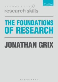 Jacket image for The Foundations of Research