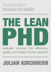 Jacket image for The Lean PhD