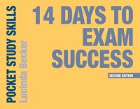 Jacket image for 14 Days to Exam Success