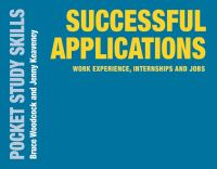 Jacket image for Successful Applications