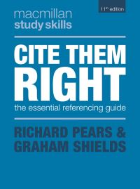 Jacket image for Cite Them Right