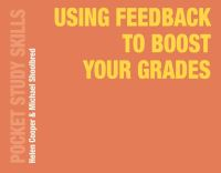Jacket image for Using Feedback to Boost Your Grades