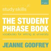 Jacket image for The Student Phrase Book