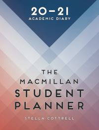 Jacket image for The Macmillan Student Planner 2020-21