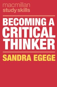 Jacket image for Becoming a Critical Thinker