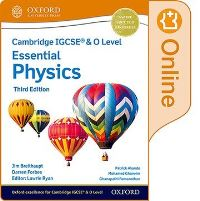 Jacket Image For: Cambridge IGCSE¬ & O Level Essential Physics: Enhanced Online Student Book Third Edition