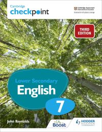 Jacket Image For: Cambridge checkpoint lower secondary English. 7 Student's book
