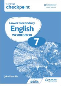 Jacket Image For: Cambridge Checkpoint Lower Secondary English Workbook 7