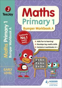 Jacket Image For: TeeJay Maths Primary 1: Bumper Workbook A