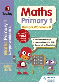 Jacket Image For: TeeJay Maths Primary 1: Bumper Workbook B
