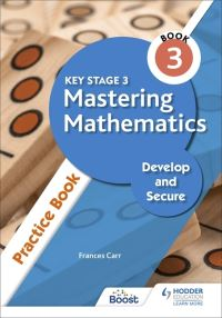 Jacket Image For: Key Stage 3 mastering mathematics Practice book 3