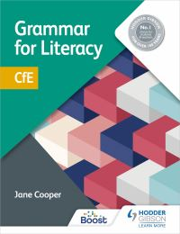 Jacket Image For: Grammar for literacy CFE