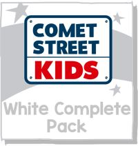 Jacket Image For: Reading Planet Comet Street Kids White Complete Pack