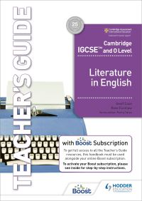 Jacket Image For: Cambridge IGCSE and O level literature in English. Teacher's guide