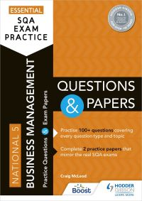 Jacket Image For: National 5 business management. Questions and papers
