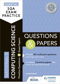 Jacket Image For: National 5 computing science. Questions and papers