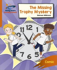 Jacket Image For: The missing trophy mystery