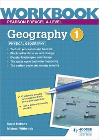 Jacket Image For: Pearson Edexcel A-level geography. Workbook 1 Physical geography