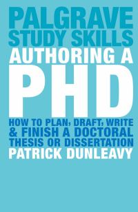 Jacket image for Authoring a PhD