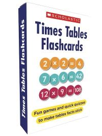 Jacket Image For: Times Tables Flashcards