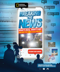 Jacket Image For: Breaking the news