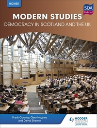 Jacket Image For: Higher modern studies for CfE. Democracy in Scotland and the UK