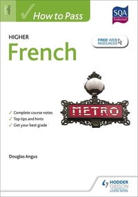 Jacket Image For: How to pass Higher French for CfE