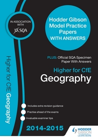 Jacket Image For: Higher Geography 2015/16 SQA Past Paper & Hodder Gibson Model Papers