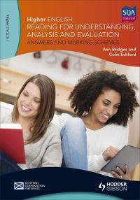 Jacket Image For: Higher English for CfE Answers and marking schemes