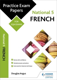 Jacket Image For: National 5 French practice papers for SQA exams