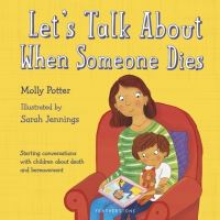 Jacket image for Let's talk about when someone dies