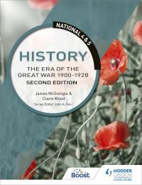 Jacket Image For: The era of the Great War 1910-1928