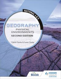 Jacket Image For: National 4 & 5 geography. Physical environments