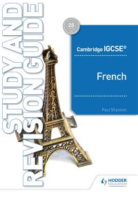 Jacket Image For: Cambridge IGCSE French. Study and revision guide