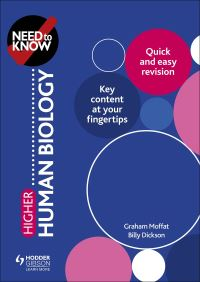 Jacket Image For: Higher human biology