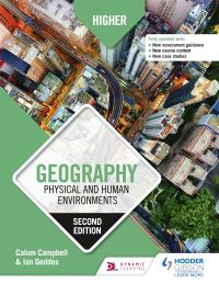 Jacket Image For: Higher geography. Physical and human environments
