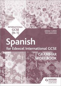Jacket Image For: Edexcel international GCSE Spanish grammar. Workbook