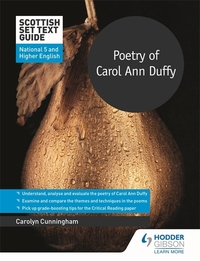 Jacket Image For: Poetry of Carol Ann Duffy for National 5 and Higher English