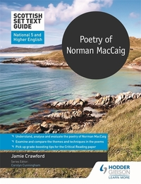 Jacket Image For: Poetry of Norman MacCaig for National 5 and Higher English