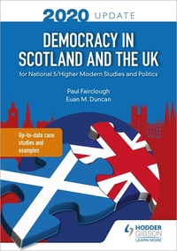 Jacket Image For: Democracy in Scotland and the UK