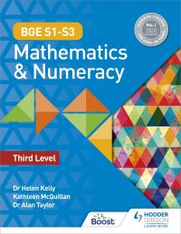 Jacket Image For: BGE S1-S3 mathematics & numeracy. Third level