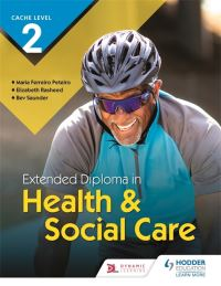 Jacket Image For: Extended diploma in health & social care. CACHE level 2