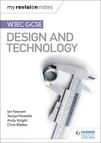 Jacket Image For: WJEC GCSE design and technology