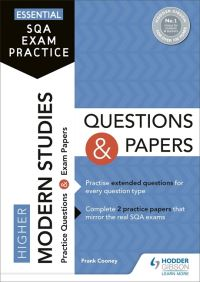 Jacket Image For: Higher modern studies questions and papers