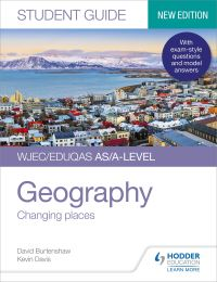 Jacket Image For: WJEC/EDUQAS AS/A-level geography. Student guide 1 Changing places