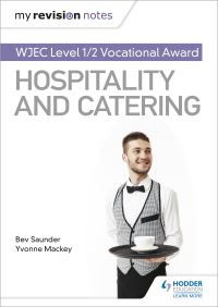Jacket Image For: WJEC Vocational award in hospitality and catering. Level 1/2